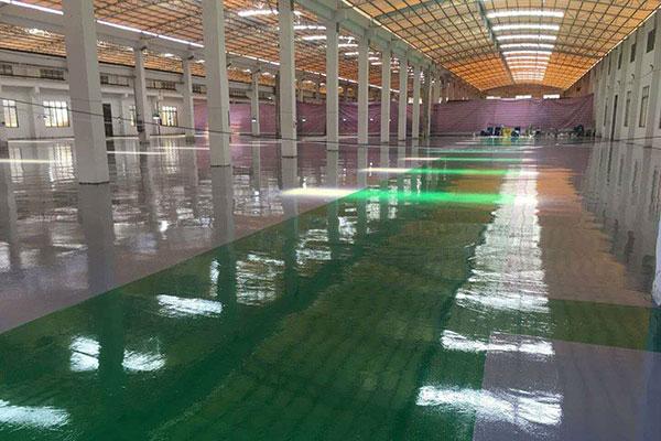 水性环氧地坪怎么施工?