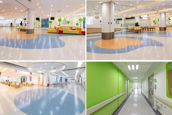 PVC地板被广泛应用于医院的原因