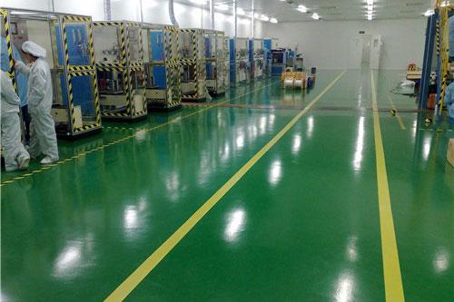 环氧地坪漆施工时对地面有哪些要求?